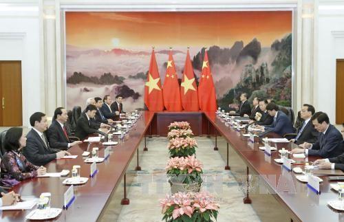 国家主席陈大光会见中国国务院总理李克强 hinh anh 2