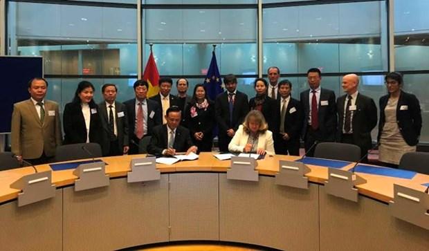 越南与欧盟结束《欧盟森林执法、施政与贸易自愿伙伴关系协议》谈判 hinh anh 1