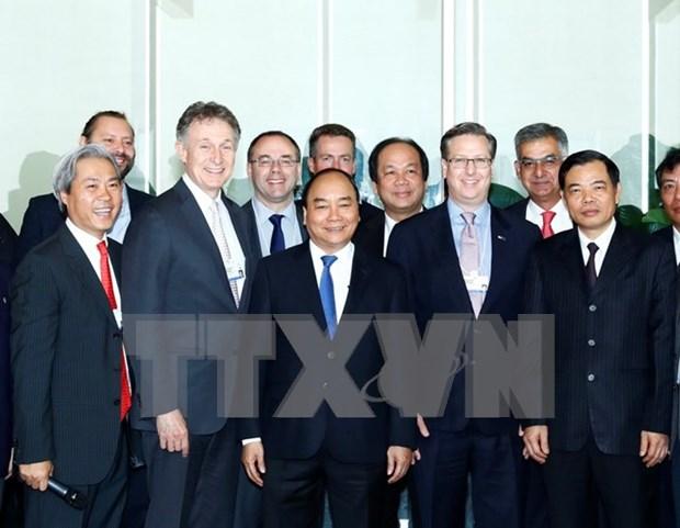 阮春福总理在世界经济论坛东盟峰会期间开展各项活动 hinh anh 1