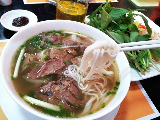 越南美食推介活动在摩洛哥举行 hinh anh 1