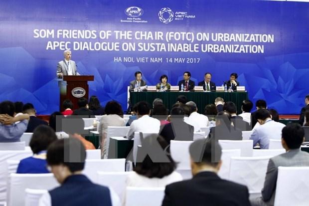 2017年APEC会议:提高城镇化建设的可持续性 hinh anh 1