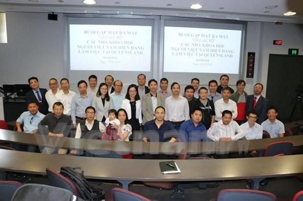 澳大利亚昆士兰州越南科学研究者俱乐部正式成立 hinh anh 1