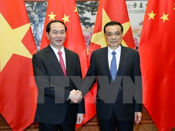 越南外交部副部长黎怀忠:陈大光主席访华之行取得圆满成功 hinh anh 1
