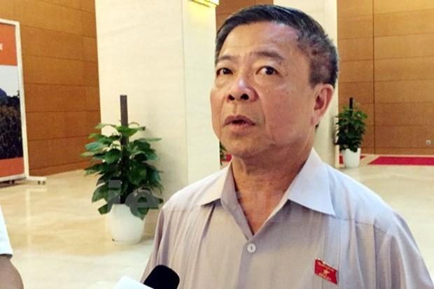 越南国会常委会接受武金巨辞去第十四届国会代表职务的请求 hinh anh 1