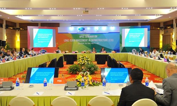 2017年APEC会议:对基础设施进行长期投资研讨会在宁平省举行 hinh anh 1
