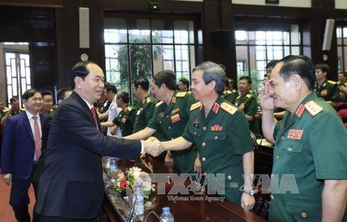 陈大光出席国防部举行的科技领域胡志明奖颁奖仪式 hinh anh 2