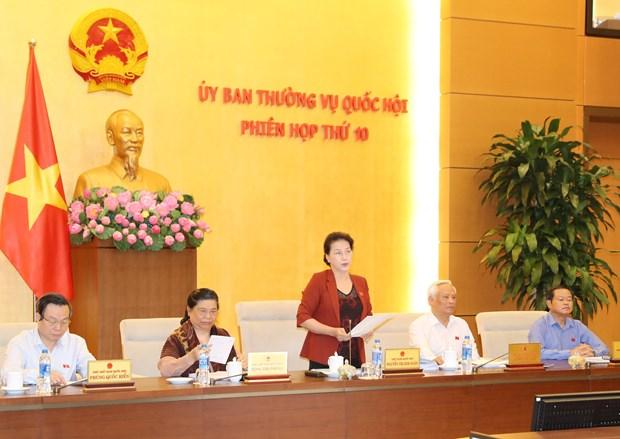 越南第十四届国会常务委员会第十次会议闭幕 hinh anh 1