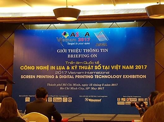 2017亚太越南网版印刷及数字化印刷工艺技术展览会拉开序幕 hinh anh 1