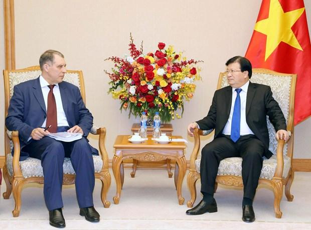 越俄加强在石油领域的合作 hinh anh 1