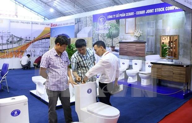 2017第二届越南国际建材展盛大开幕 hinh anh 1