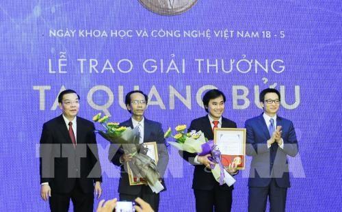 越南政府副总理武德儋: 2017年谢光宝奖在越南科技领域的地位日益提升 hinh anh 1