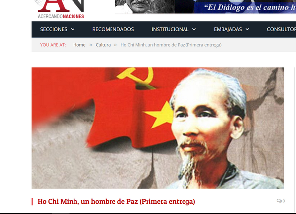 阿根廷媒体歌颂胡志明主席 hinh anh 1