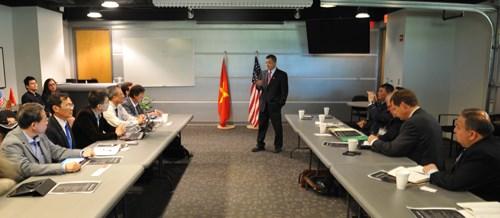 美国专家为越南减轻气候变化影响献策 hinh anh 1