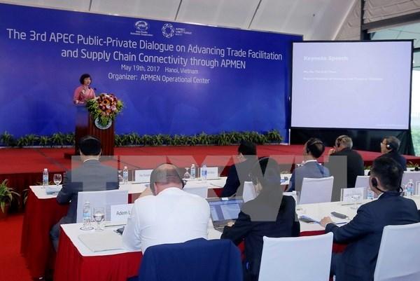 2017年APEC会议:促进贸易便利化和供应链互联互通 hinh anh 1