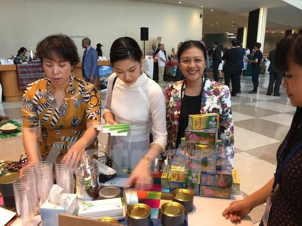 越南参加联合国茶叶与咖啡节 hinh anh 1