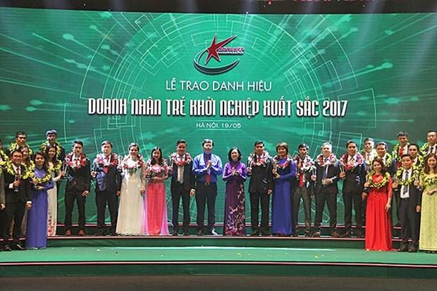 2017年优秀创业年轻企业家表彰大会在河内举行 hinh anh 1