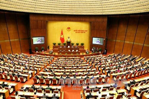 越南第十四届国会第三次会议隆重开幕 hinh anh 2