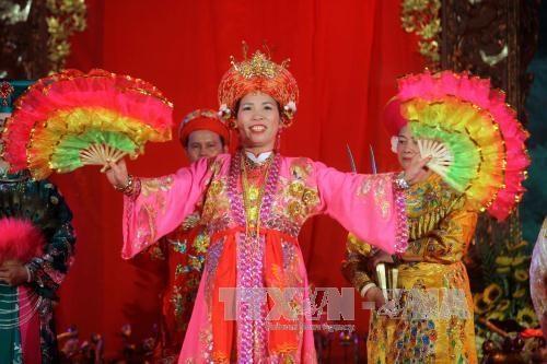林宫圣母祭祀信仰节在安沛省精彩举行 hinh anh 3