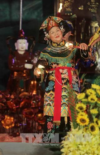 林宫圣母祭祀信仰节在安沛省精彩举行 hinh anh 4