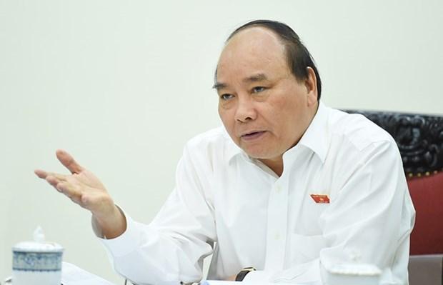 阮春福总理主持召开2017年增长情景会议 hinh anh 1