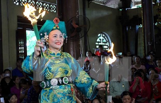 林宫圣母祭祀信仰节在安沛省精彩举行 hinh anh 1