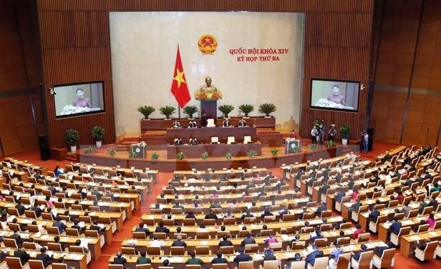 第十四届国会第三次会议:国会主席阮氏金银致开幕辞 hinh anh 2