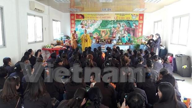旅居安哥拉越南人举行佛诞节庆祝活动 hinh anh 1