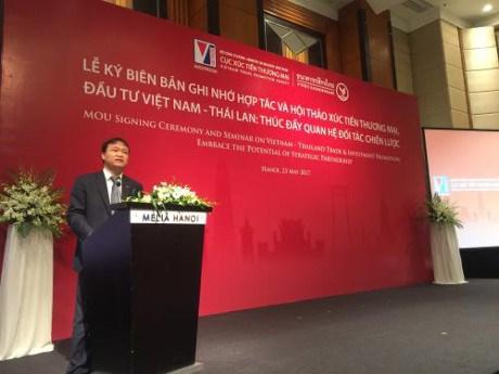 越南与泰国促进贸易与投资合作 hinh anh 1