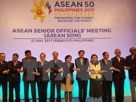 东盟与中日韩高官会和东亚峰会高官会深入探讨促进多个领域合作的措施 hinh anh 1