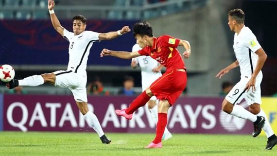 越南U20足球队给东南亚足球留下脚印 hinh anh 1