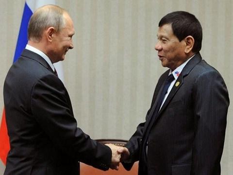 菲律宾总统访问俄罗斯 进一步加强双边关系 hinh anh 1