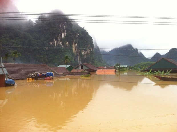 越南为及时应对变化无常的自然灾害做好两手准备 hinh anh 1