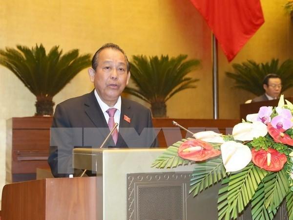 越南政府阐述实现2017年经济发展目标的主要措施 hinh anh 1
