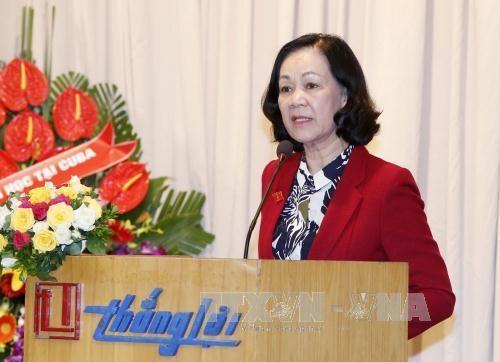 张氏梅就任越南古巴友好协会主席 hinh anh 1