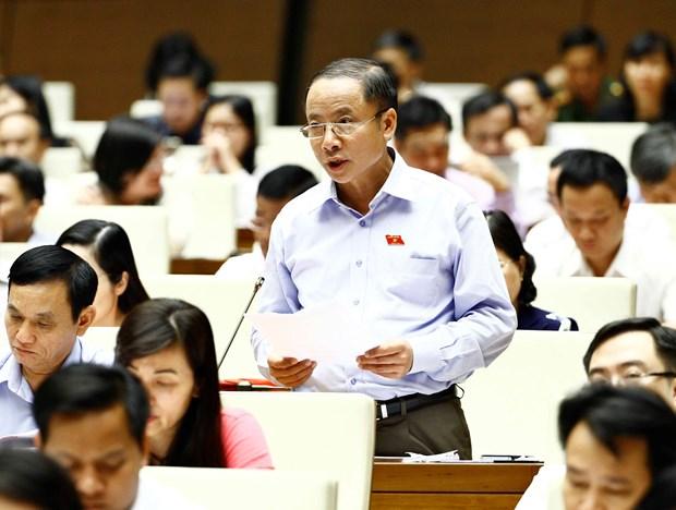 越南第十四届国会第三次会议:为中小企业发展注入动力 hinh anh 1