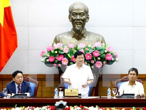 郑廷勇副总理:政府一向高度评价企业在实现绿色增长目标和技术创新过程中所起的作用 hinh anh 1
