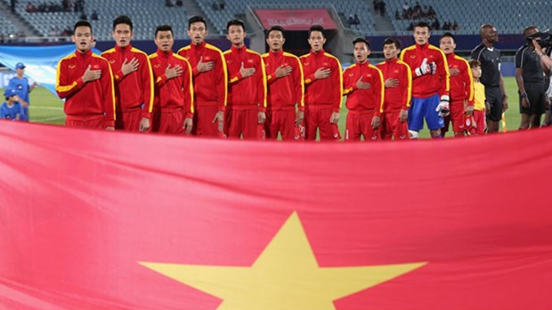 国际足联发文大赞越南U20足球队 hinh anh 1