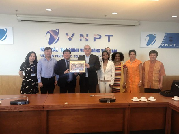 CubaTel希望与 VNPT 合作建设基础设施 hinh anh 1
