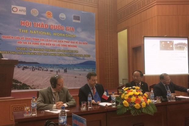 欧盟协助越南预防海岸侵蚀现象 hinh anh 1