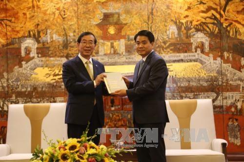 河内市承诺为韩国投资商创造有利条件 hinh anh 1