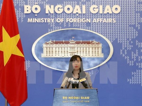 越南坚决反对中国台湾在越南长沙群岛巴平岛周边海域进行实弹演习 hinh anh 1