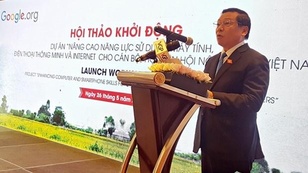 谷歌集团帮助越南农民接近互联网发展生产活动 hinh anh 1