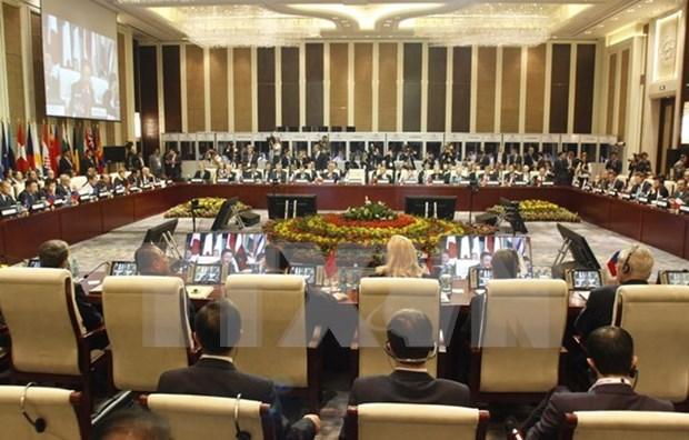 越南出席亚欧妇女经济赋权会议 hinh anh 1