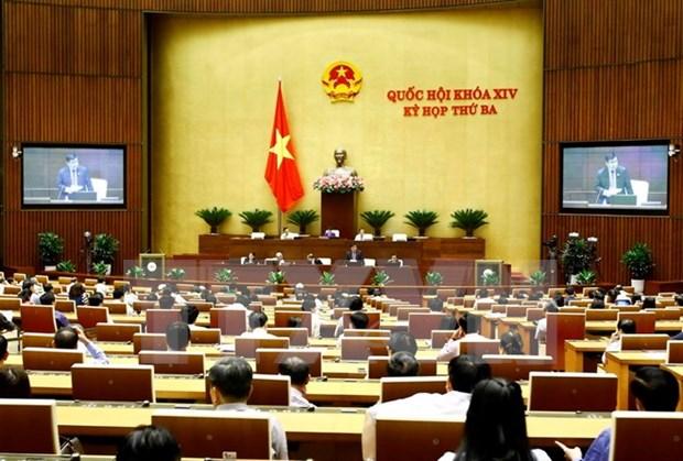 越南第十四届国会第三次会议发表第五号公报 hinh anh 1