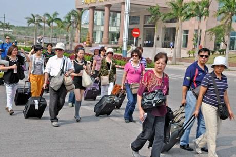 2017年前5个月赴越中国游客量增长55% hinh anh 1