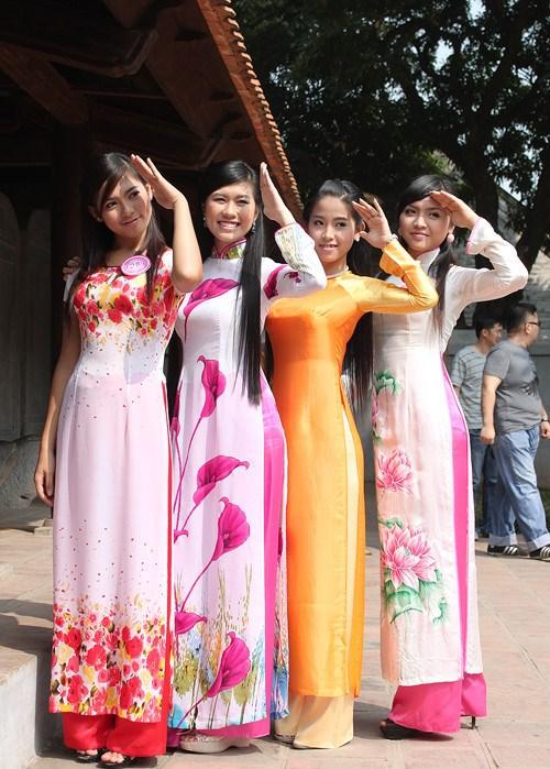越南京族妇女的传统服装 hinh anh 4