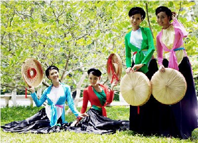 越南京族妇女的传统服装 hinh anh 2