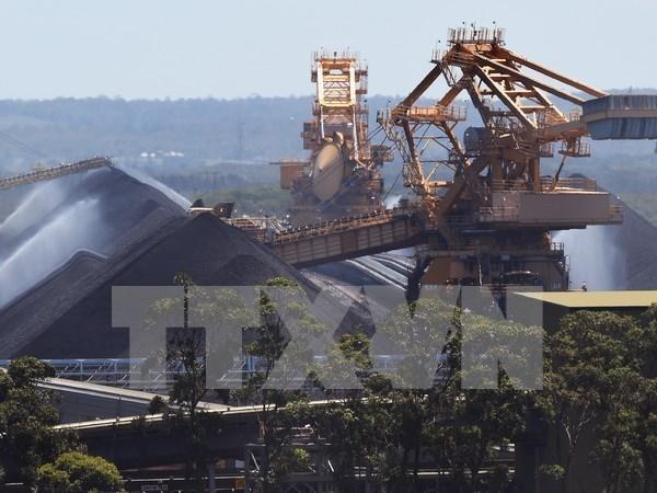 2017年前4月越南煤炭出口量激增 hinh anh 1