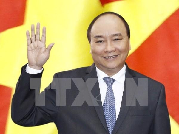 越南政府总理阮春福启程对美国进行正式访问 hinh anh 1