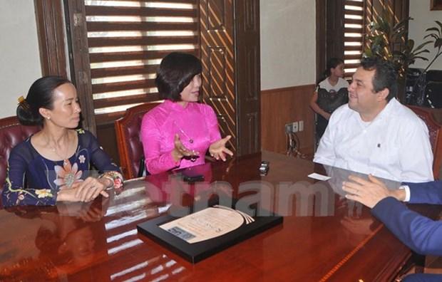 越南与墨西哥各地方加强合作 hinh anh 2